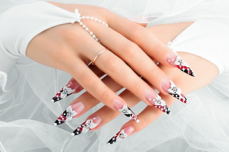 Nail salon 93101 | TLC Nail Lounge: Manicure pt.3